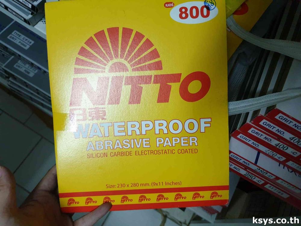 กระดาษทรายน้ำ NITTO เบอร์800