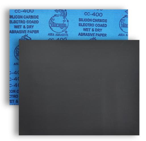 กระดาษทรายน้ำ/ขัดแห้ง Blue Dragon ขนาด 9นิ้วx11นิ้ว
