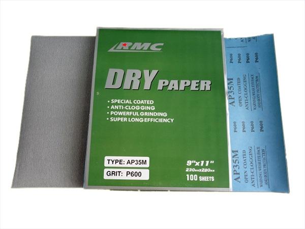 กระดาษทรายขัดแห้ง RMC AP35M