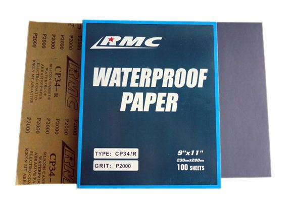 กระดาษทรายน้ำ RMC CP34/R