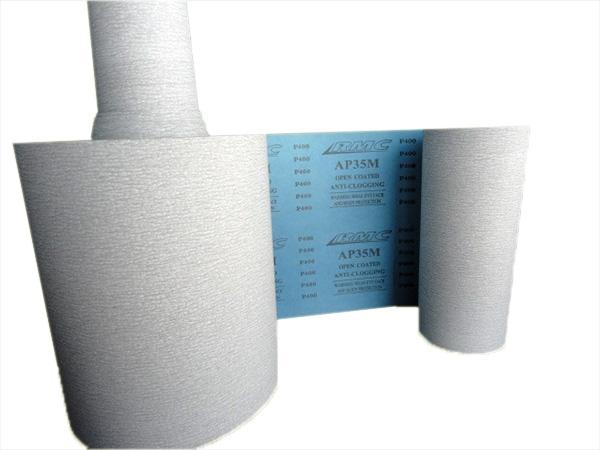 กระดาษทรายม้วนขัดแห้ง RMC A35PM ขนาด 9นิ้วx100m, 9นิ้วx50m