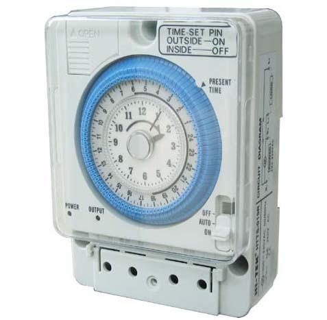 HI-TEK Timer Switch สวิทช์ตั้งเวลารุ่น HTTS-015R 15A 220-240V