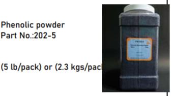 Phenolic powder Part No:202-5