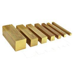 ทองเหลืองรีดเส้นสี่เหลี่ยม