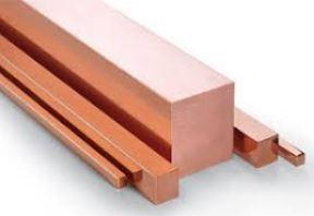 ทองแดงเส้นสี่เหลี่ยม