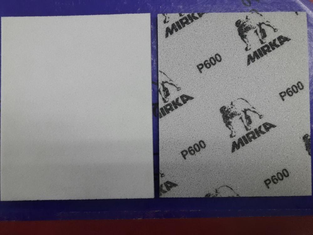 กระดาษทรายฟองน้ำ Mirka 115mmx140mm เบอร์#600