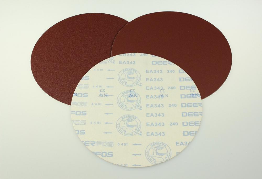 กระดาษทรายกลม Deerfos EA343 8นิ้ว #220