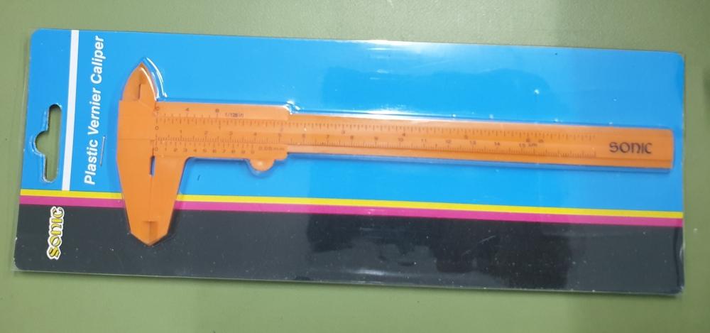 Sonic plastic vernier caliper