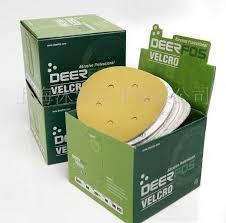 กระดาษทรายกลม DEERFOS CA331 ขนาด 5นิ้ว